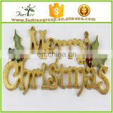wholesale sample merry christmas ornament letter banner