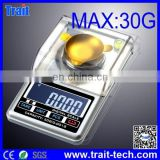 High Accuracy Mini Electronic Digital Jewelry Weigh Scale Balance Pocket Gram LCD Electronic Scales