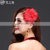 P-9086 Multy color performance stage women belly dance head flower headwear