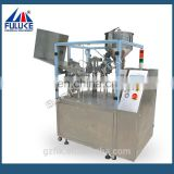 Tube filling and sealing machines for cosmetic packaging oval plastic tube with filptop cap