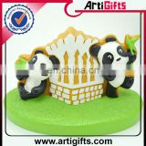 MOQ 100pcs customized lovely panda doll for birthday gift
