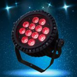 high power 12PCS 18W RGBAWUV 6in1 IP65 waterproof led light,outdoor party decoration,led color bank,led wash light