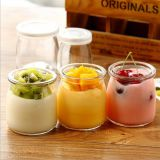 200ML CROWN MILK PUDDING PACKING GLASS BOTTLE FOR MILKGLASS BOTTLE WHOLESALE