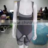 100% Late walson s-6l Natural Bamboo Slimming Shaper Full Body Suit Corset Tummy Shapewear wholesale
