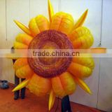 Best sale giant inflatable sun flower for decoration