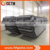 Amphibious excavator undercarriage supplier-Top1 sales in 2014 Amphibious pontoon in China