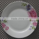 bone china dinner plate with flower decal plates sets dinnerware with bone china material japanese tableware