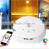 192W/384W High-powered WiFi LED Controller for DC12V/24V Full-color RGB/RGBW LED Strip with Remote Control APP for Android IOS