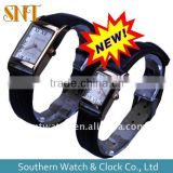 new model leather band couple watches