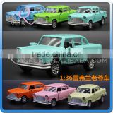 Mini Qute 1:36 kid Die Cast pull back alloy music classic racing car vehicle model car electronic educational toy NO.MQ 512B