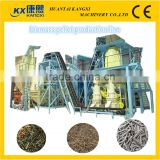 vertical ring die wood pellet plant production line or wood pellet mill machine with CE certificate