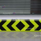 10 years fluorescent yellow-green high intensity prisamtic reflective sheet for vehicles