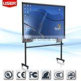 "84"" Interactive smart board for Shopping mall/school/meeting room"