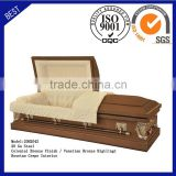 20H2042 funeral supply good quality cheap price coffin American steel casket