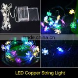 1pcs 100% Waterproof RGB Led String Sunflowers Holiday Lighting Christmas Lights Wedding Decoration Lights Fleible Led Strip