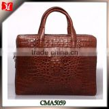2014 high quality fashion design of leather briefcase and business bag Leather Briefcase