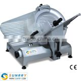 All stainless steel commercial electric cold meat slicer Diameter 330mm With Italy Imported Belt And Blade