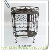 BR-2104-1007 Antique Home Decorative Wine Rack Wine Bar Cabinet