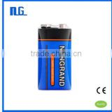 Good quality power plus 6f22 9v battery from china