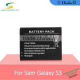 Best selling products cell phone battery pack compatible with S3/I9300/I9308/I535/M440S/I747/I9082 EB-L1G6LLU