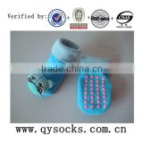 Baby cotton 3D socks / baby anti-slid socks / loose top with doll 3D socks