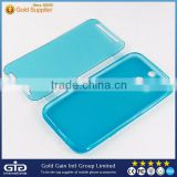 [GGIT] Colored TPU Flip Touch Screen Protector Case Touch Type Protective Cover for HTC M8