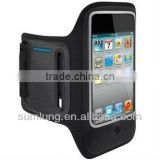 Popular and fashionable sport mobile pouch arm bag for mobile phones, apple phones, mp3 mp4 mp5 players