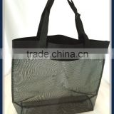 Rubber Net promotional beach bag