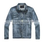 Mens' Fashion jeans motorcycle jacke (DS120067)