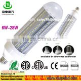 28W LED street light, 28W high power LED corn street light, 28W LED garden light park light.
