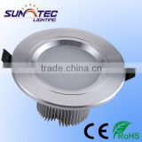 Hot sale 3 years warranty recessed downlight ip65 led downlight round 3W 5W 7W 9W 15W 18W with CE ROHS
