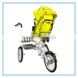 Travel System New Factory Wholesale Price Baby Stroller 3 In 1 14 Inch Mini Safe Electric Bike Bicycle Strollers