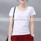 Manufacturer Woman Custom Blank Fitted T shirt China Wholesale Plain no Brand T Shirt