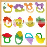 Baby Rattle And silicone baby teether