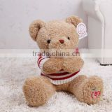 factory custom animal stuffed teddy bear toy plush teddy bear with sweater