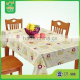 Eco-friendly Custom Plastic Printed Tablecloth on Sale