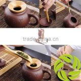 Hand-made tea set tea knife chado bamboo tea accessory tea clips gongfu tea accessories