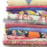 reversible kantha throws