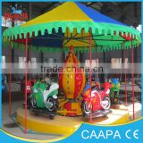 [Changda] Attractive amusement park carnival bike rides rotary space motorcycle ride for sale