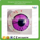 2015 Saints' Day Inflatable Special Halloween Eyeball PVC Plastic Inflatable Eyeball For Advertising