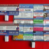 hot sale promotional gifts fridge magnet with plastic clip