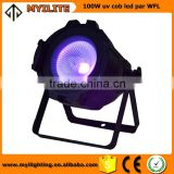 100W COB LED light Black light par can UV ultraviolate Light/ Design 100w COB LED Par Light Activated Sound Module/Par