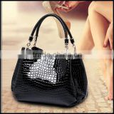 Manufacturers selling 2016 new tide fashion ladies bag crocodile Handbag Shoulder Bag Handbag