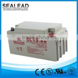 Maintenance free 12v 65ah ups battery for elevator