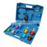 Radiator pressure tester kit, 8 adapters