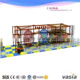 Vasia Commercial Kids indoor high adventure play equipment indoor obstcle rope coures with climbing wall                                                                                                         Supplier's Choice