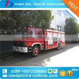 Dongfeng 6 ton 4x2 water tank fire fighting truck for sale