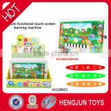 New product children plastic multifunction learning machine China sweet candy toy factory