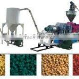 SJSZ Series PVC hot-cutting plastic granule making machine