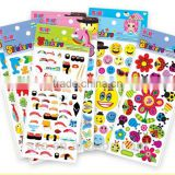 Children stickers, custom bubble stickers cartoon stereo baby princess paste paper stickers children sticky paper